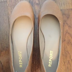 """Report Women""""s Leather Flats"""